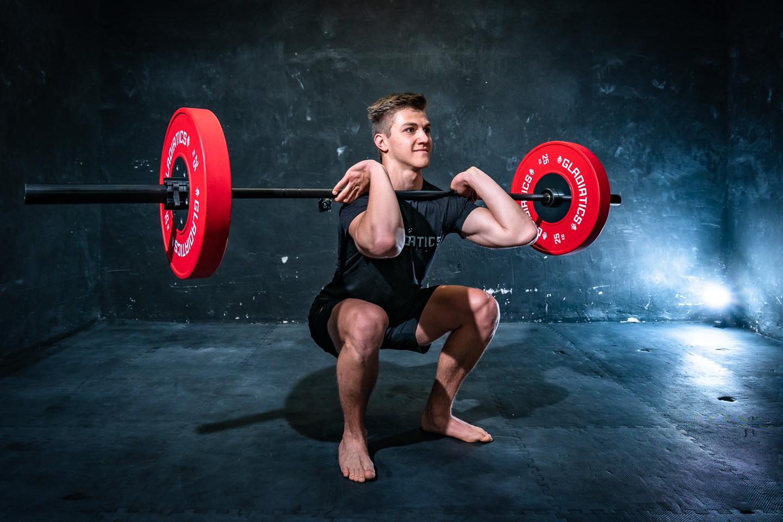 GLADIATICS Competition Plates - Rote Gewichtsscheiben