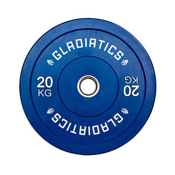 Color Bumper Plates 5-25 kg